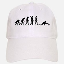 Curling evolution Baseball Baseball Cap