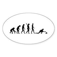 Curling evolution Decal