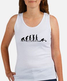 Curling evolution Women's Tank Top