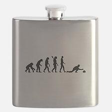 Curling evolution Flask