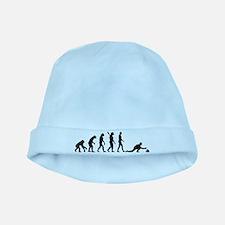 Curling evolution baby hat