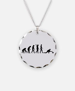 Curling evolution Necklace