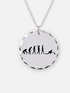 Curling evolution Necklace