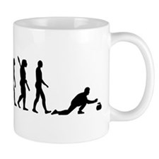 Curling evolution Mug