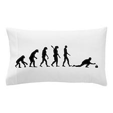 Curling evolution Pillow Case