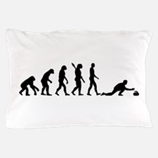 Curling evolution Pillow Case
