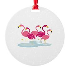 Flamingos Ornament