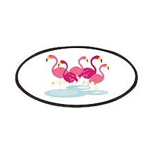 Flamingos Patches