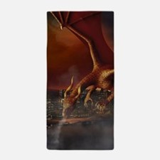 Dragon Attack Beach Towel