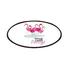 Team Flamingo Patches