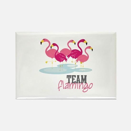 Team Flamingo Magnets