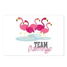 Team Flamingo Postcards (Package of 8)