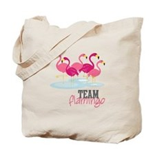 Team Flamingo Tote Bag