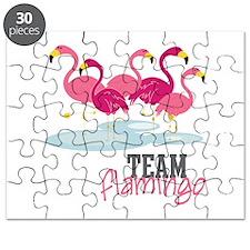 Team Flamingo Puzzle