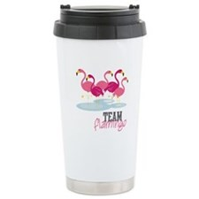 Team Flamingo Travel Mug