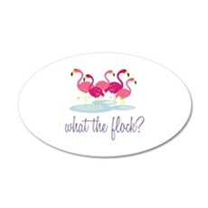 What The Flock Wall Decal