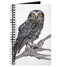 Cool Zombie owl Journal