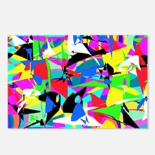 Abstract Retro Postcards (Package of 8)