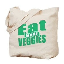 Unique Eat veggies Tote Bag
