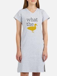 What The Duck? Women's Nightshirt