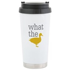 What The Duck? Travel Mug