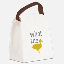 What The Duck? Canvas Lunch Bag