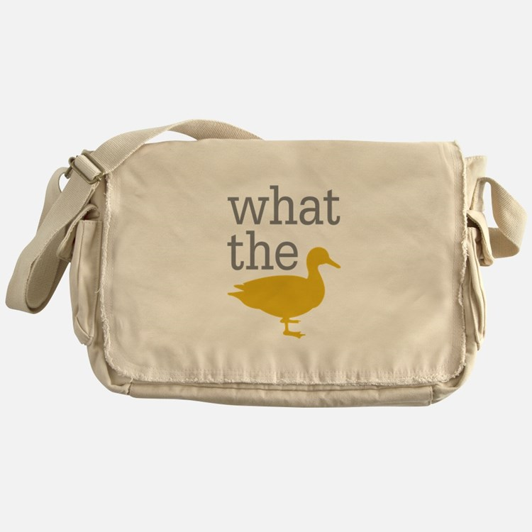 What The Duck? Messenger Bag