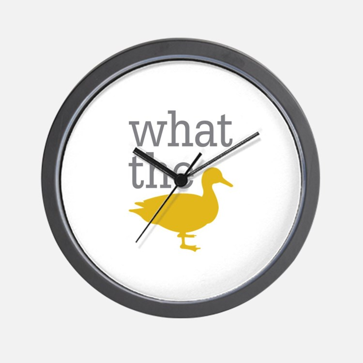 What The Duck? Wall Clock