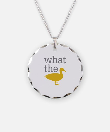 What The Duck? Necklace