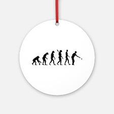 Boccia boule evolution Ornament (Round)