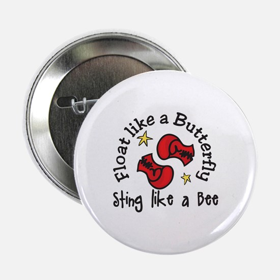 "Sting Like A Bee 2.25"" Button"