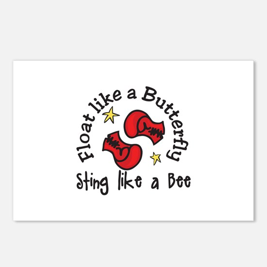 Sting Like A Bee Postcards (Package of 8)