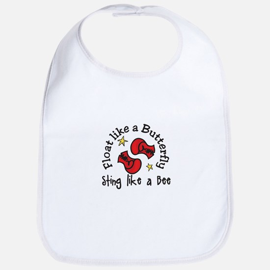 Sting Like A Bee Bib