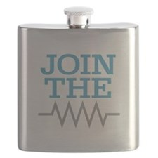 Join The Resistance Flask