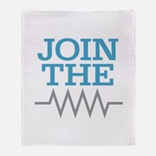 Join The Resistance Throw Blanket