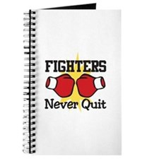 Fighters Never Quit Journal