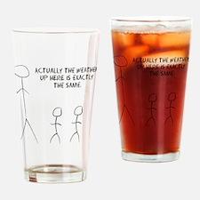 tall stick man Drinking Glass