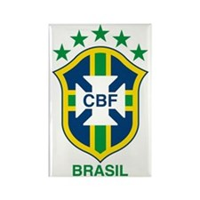 Cute Brazil Rectangle Magnet