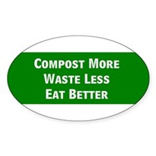 CompostMoreBumperBumper Stickers Bumper Stickers