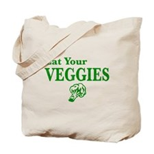 Cute Eat veggies Tote Bag