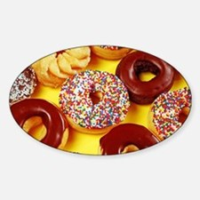 Assorted delicious donuts Decal