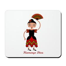 Flamengo dancer Mousepad
