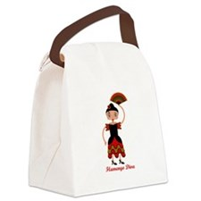 Flamengo dancer Canvas Lunch Bag