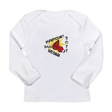 Boxing Punches Long Sleeve T-Shirt