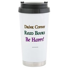Love books Travel Mug