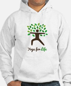 Yoga For Life Warrior Pose Tree Hoodie