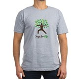 Yoga Fitted T-shirts (Dark)