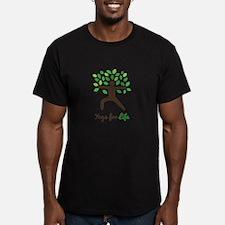 Yoga For Life Warrior Pose Tree T-Shirt