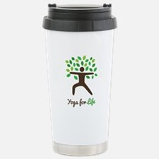 Yoga For Life Warrior Pose Tree Travel Mug