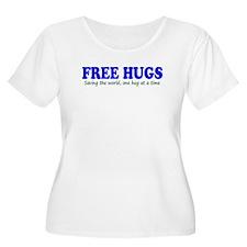 Free Hugs Plus Size T-Shirt